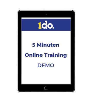 5 minuten online training